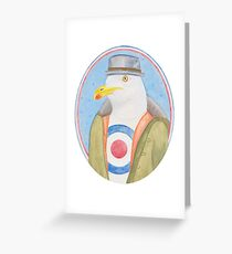 Mr Chips Greeting Card