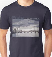 Praha Czech Republic - Iconic Places Unisex T-Shirt