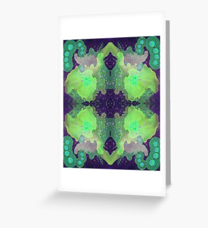 rage to the forth dimension Greeting Card