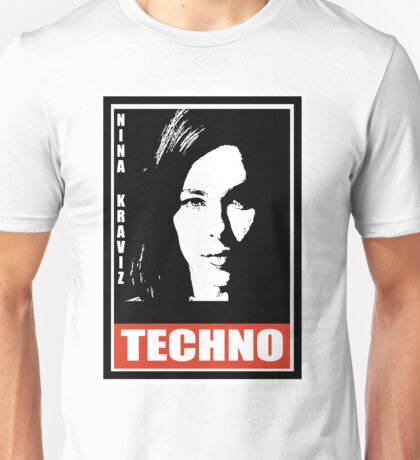 obey techno Unisex T-Shirt
