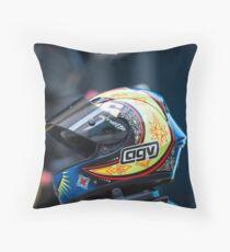Valentino Rossi helmet  Throw Pillow