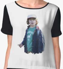 Dustin (Stranger Things) Women's Chiffon Top