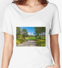 The rural landscape Women's Relaxed Fit T-Shirt