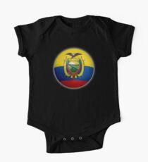 Ecuador - Ecuadorian Flag - Football or Soccer 2 One Piece - Short Sleeve