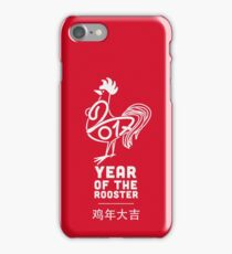 YEAR OF THE ROOSTER - 2017 iPhone Case/Skin