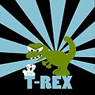 T-Rex by Sonia Pascual