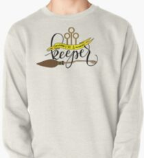 Black 'I'm A Keeper' Pun - Yellow Pullover