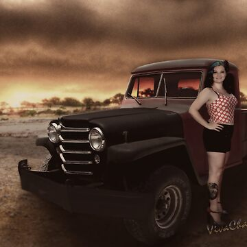 Jeepin Bettie by the Billabong by ChasSinklier