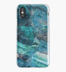 Siena Turchese - blue marble iPhone Case/Skin