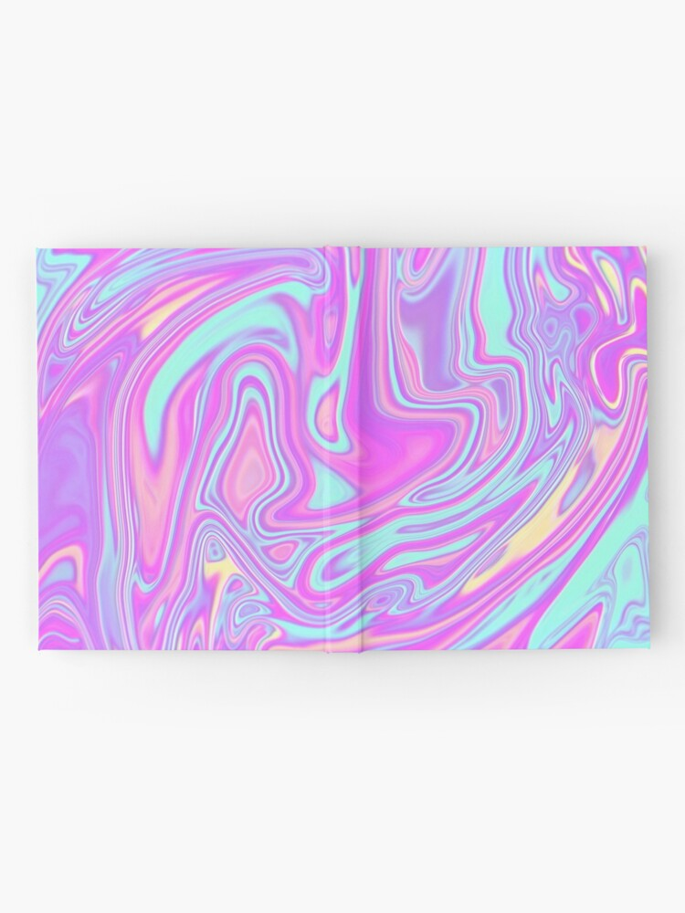Alternate view of Liquid Rainbow Hardcover Journal