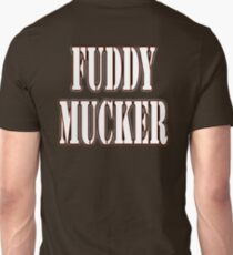 FUDDY MUCKER, Muddy, off road, Sport, Rugby, Run, Running, Course, Cross Country, Biker T-Shirt