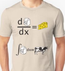 Cool Funny Maths Shirt (Dy/Dx) T-Shirt