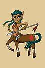 Warrior Centaur Girl MONSTER GIRLS Series I by angelasasser