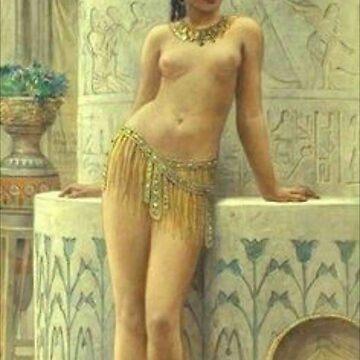Egyptian Girl by adammcinerney