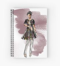 Saturday Night Party (look 2) Spiral Notebook