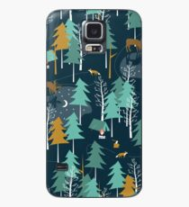 MOONLIGHT, Woodland, Camping, Moose Case/Skin for Samsung Galaxy