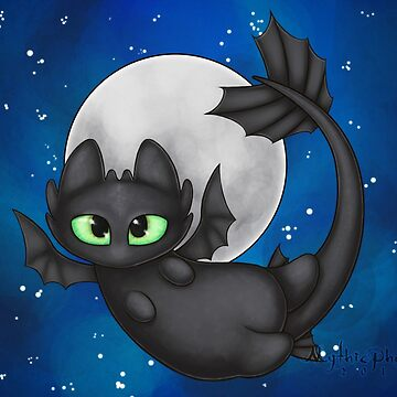 Tiny Toothless by MythicPhoenix