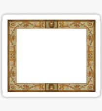 Renaissance Frame - Time Capture Sticker