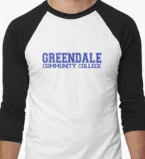 GREENDALE College Jersey (blue) Men's Baseball ¾ T-Shirt