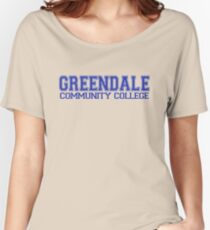 GREENDALE College Jersey (blue) Women's Relaxed Fit T-Shirt