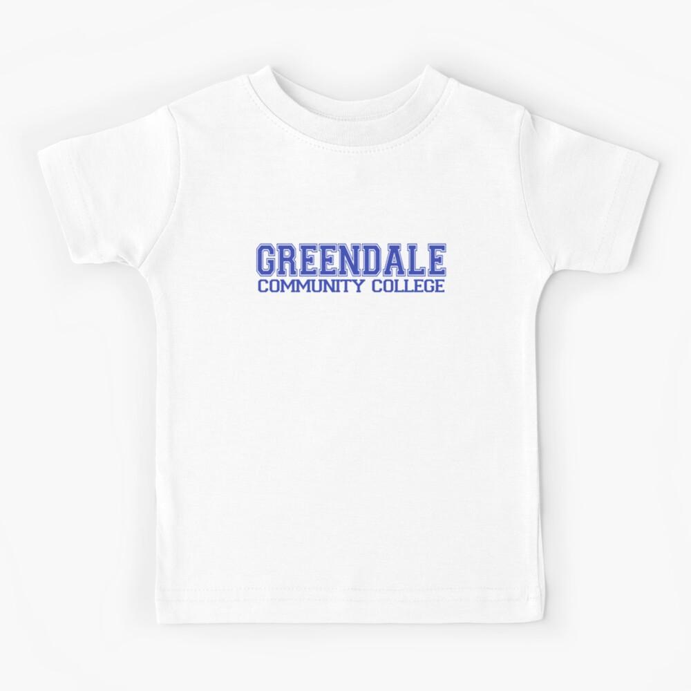 GREENDALE College Jersey (blue) Kids T-Shirt