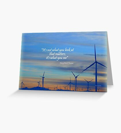 Wind Movers Greeting Card