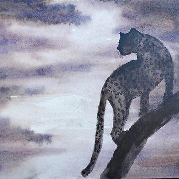"""143. """"Leopard at Twilight"""" by M.Viljoen by mviljoenart"""