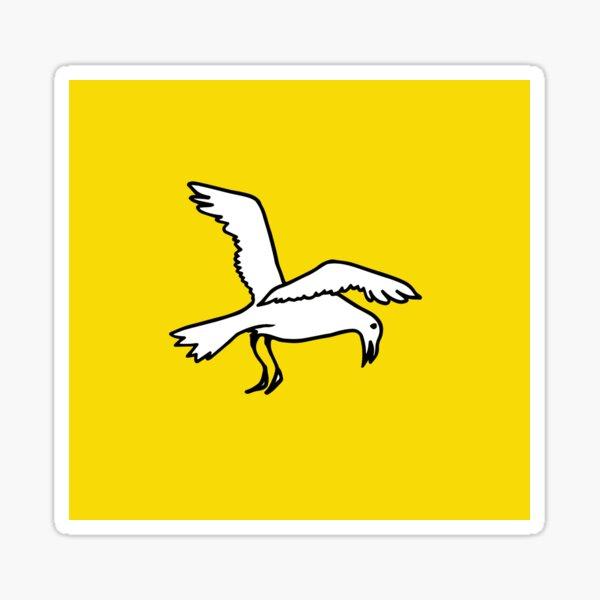 Bird in flight Sticker