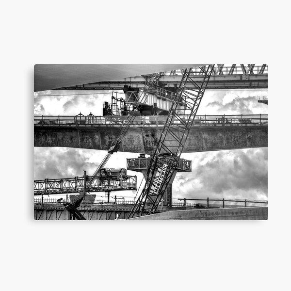 Overpass Metal Print