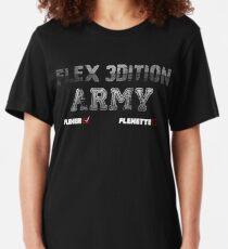 Camiseta ajustada Flex 3dition Flexer o Flexette