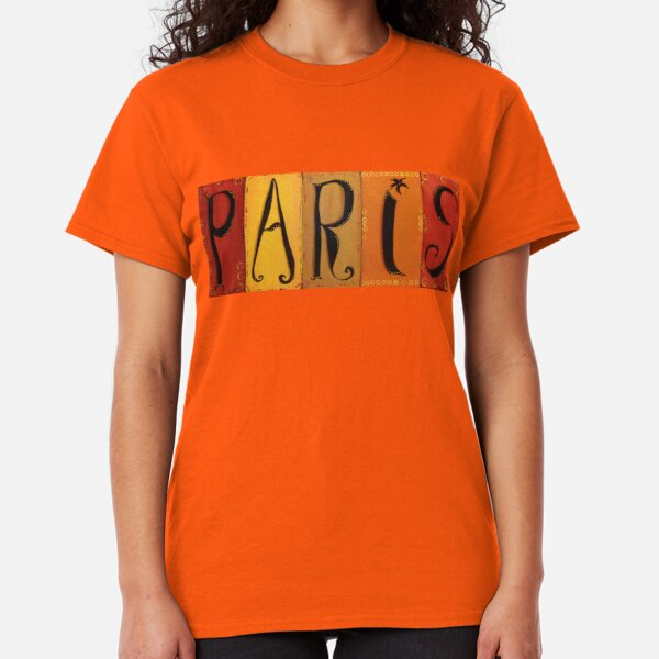Paris Sign Classic T-Shirt