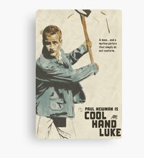 Nothing Can Be a Real Cool Hand Canvas Print