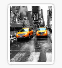 Yellow Taxi Sticker