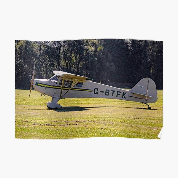 Taylorcraft BC-12D Twosome G-BTFK Poster