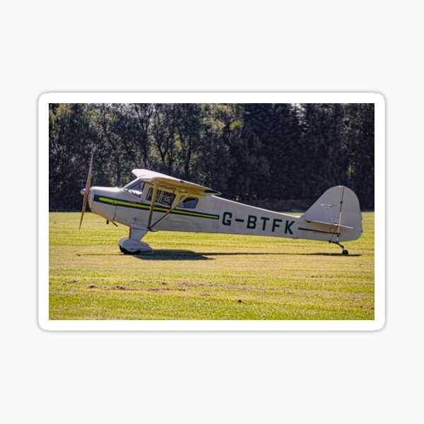 Taylorcraft BC-12D Twosome G-BTFK Sticker