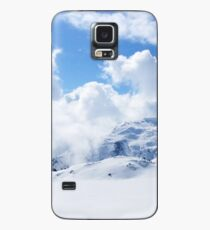 Snowy mountains with clouds Case/Skin for Samsung Galaxy