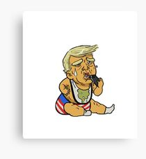 Baby Donald Canvas Print