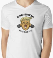 Illiteracy V-Neck T-Shirt