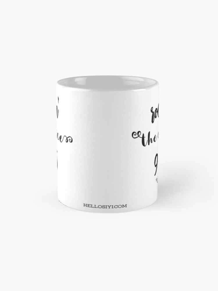 Alternate view of Rockin' the office Mug