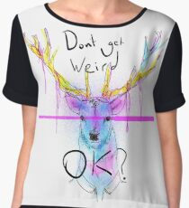 Neon Stage (People of Earth) Women's Chiffon Top