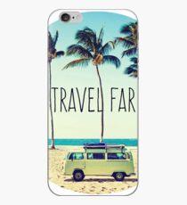 Travel Far iPhone Case