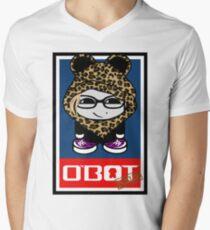 Kimdolion O'bot Toy Robot 2.0 Men's V-Neck T-Shirt