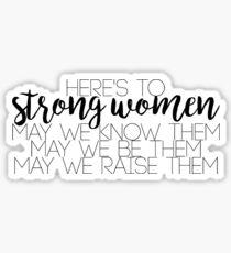 Strong Women pt. 2 Sticker