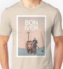 Bon Iver. Unisex T-Shirt