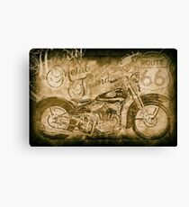 Heavy Metal Thunder Canvas Print