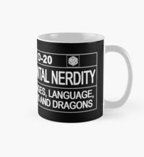 This Gamer is Rated D20 Mug
