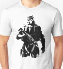 Weathered Mute Unisex T-Shirt