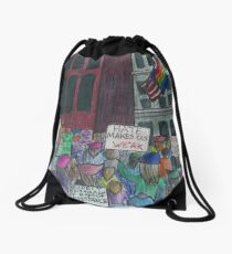 Stronger Together - Women's March 2017 Drawstring Bag