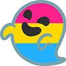 «Pan Pride Android Ghost Emoji» de baiiley