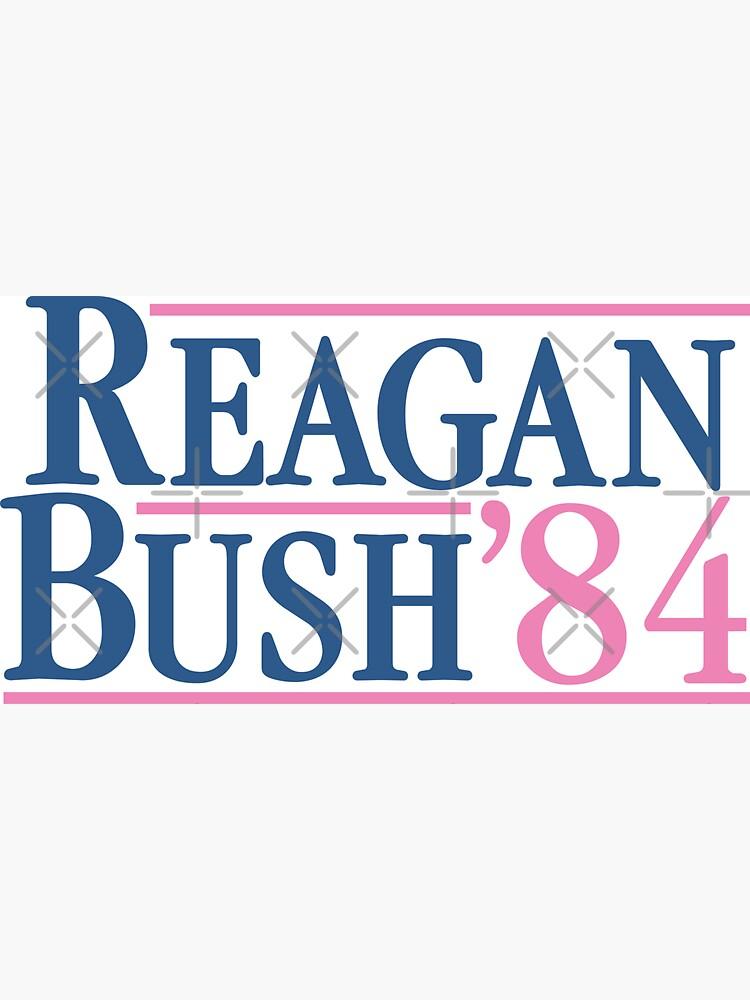 Reagan Bush 84 Pink Preppy Republican de theroyalsass